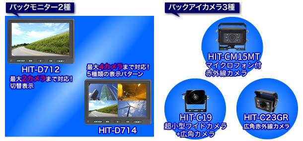 バックモニターシステム HIT/Series