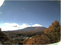 須走から望む富士山